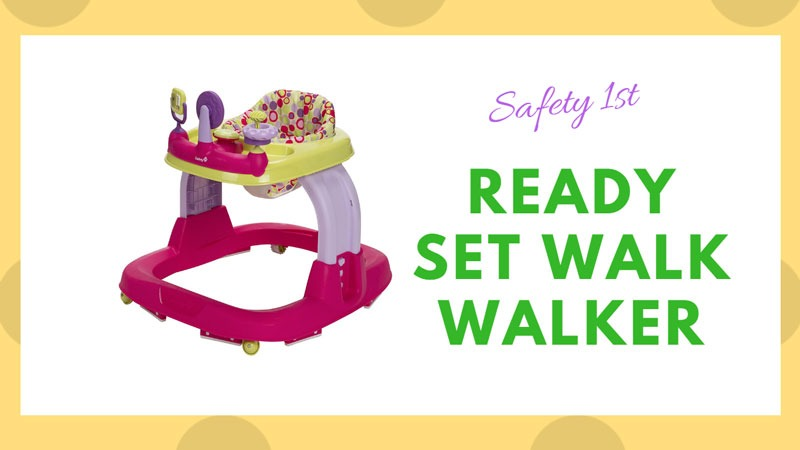 Safety 1st Ready Set Walk Walker
