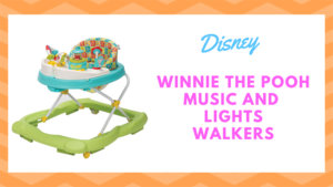 Disney Winnie The Pooh Music and Lights Walker